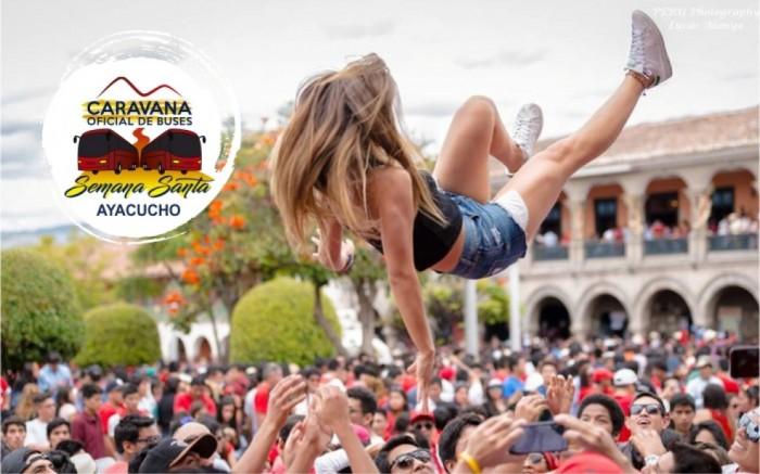 Semana Santa Ayacucho Caravana Oficial de Buses 2020