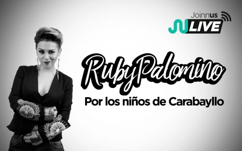 En Vivo con Ruby Palomino por los Niños de Carabayllo