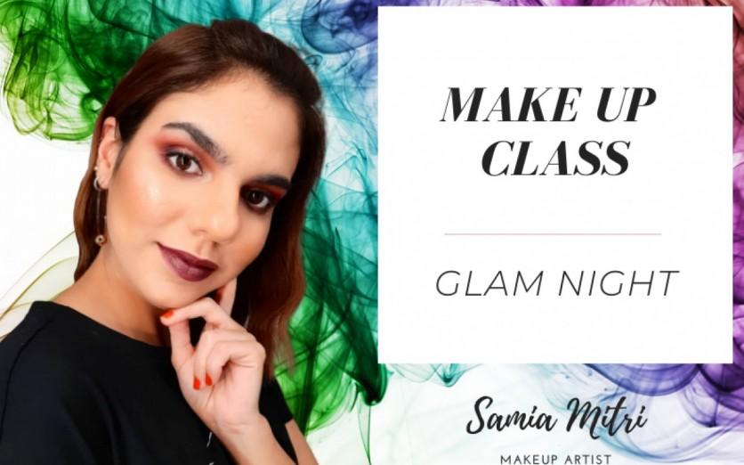 Maquillaje Glam con Samia Mitri
