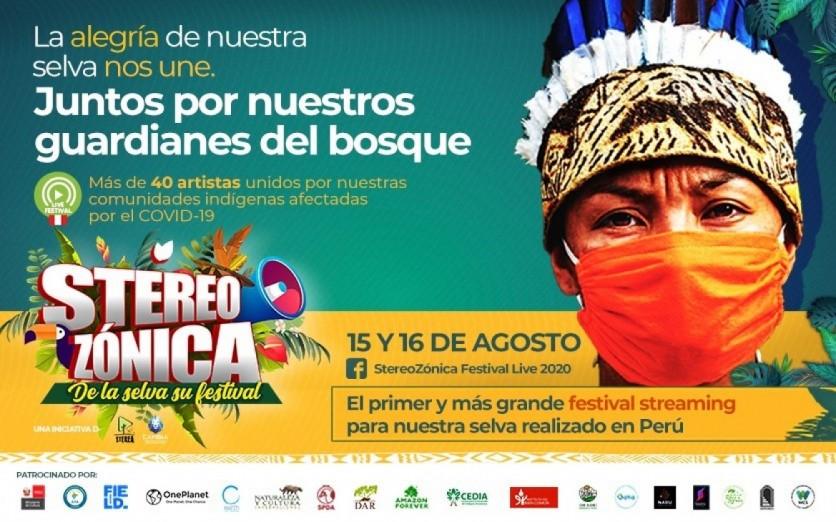 """Stereo Zónica ¨De la Selva Su Festival Live 2020"""""""