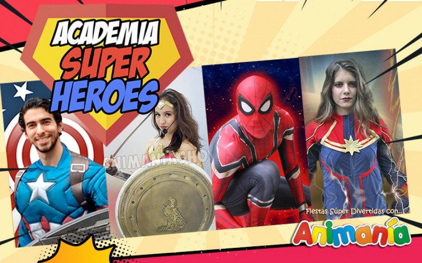 Academia de Superhéroes y Superheroínas