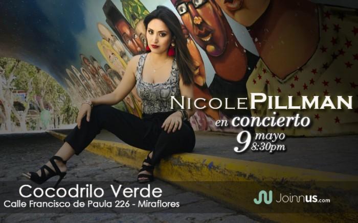 Nicole Pillman en el Cocodrilo Verde