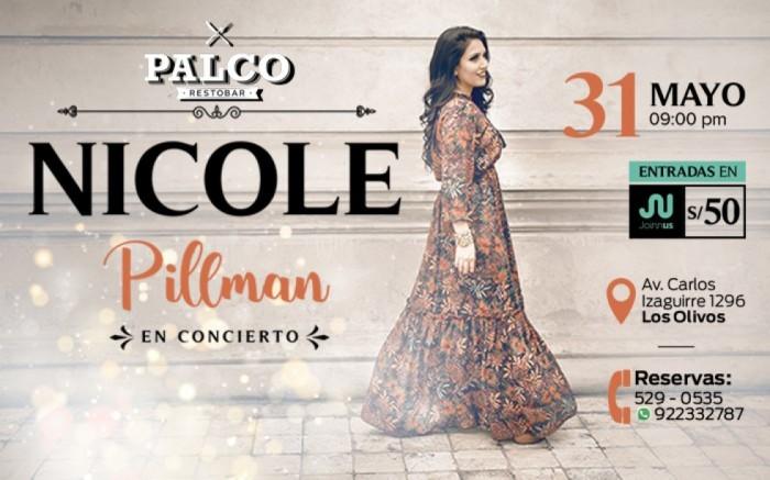 Nicole Pillman en Concierto