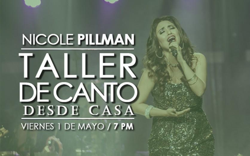 Taller de Canto Virtual (Transmisión) con Nicole Pillman