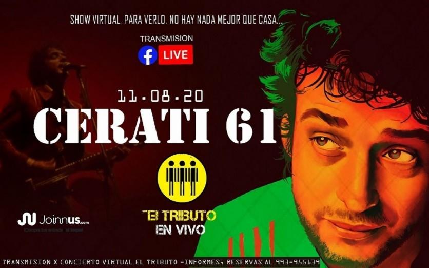 CERATI61 (EL TRIBUTO en vivo) 11/08