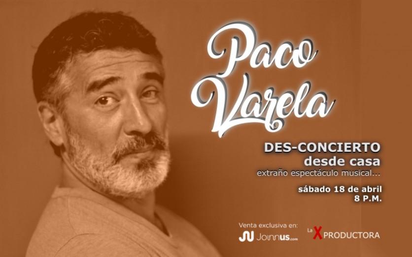 Paco Varela, Des-Concierto desde casa