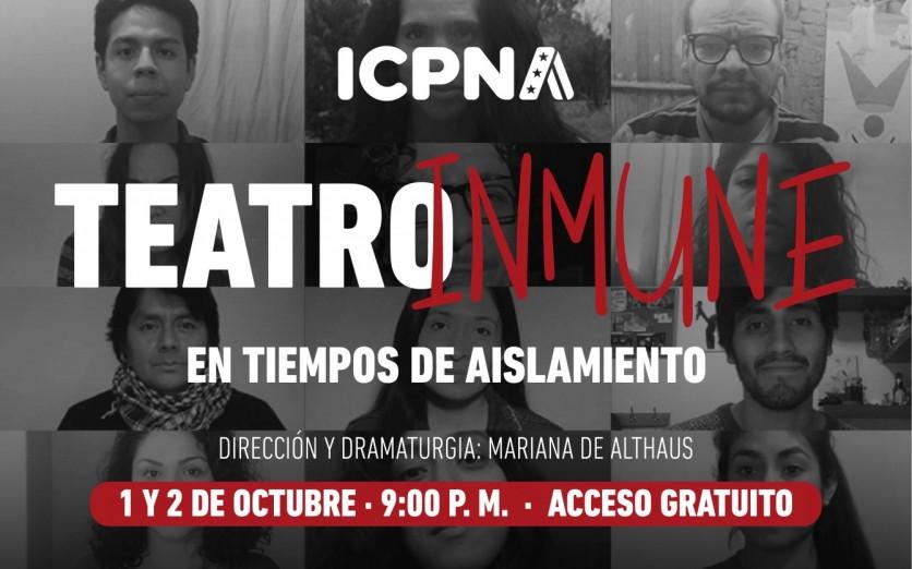 Teatro inmune  - Icpna Cultural