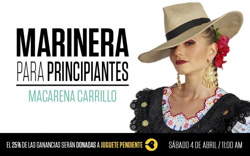 Marinera para principiantes con Macarena Carrillo