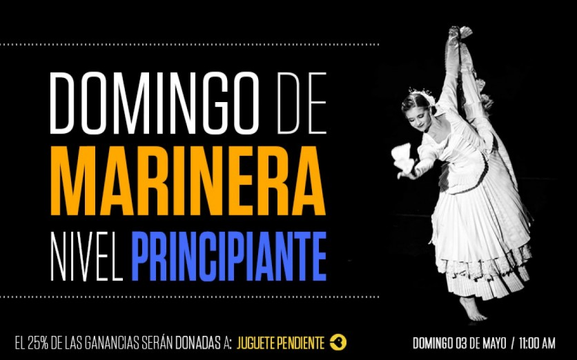 Domingo de Marinera (3/05) - Nivel Principiante