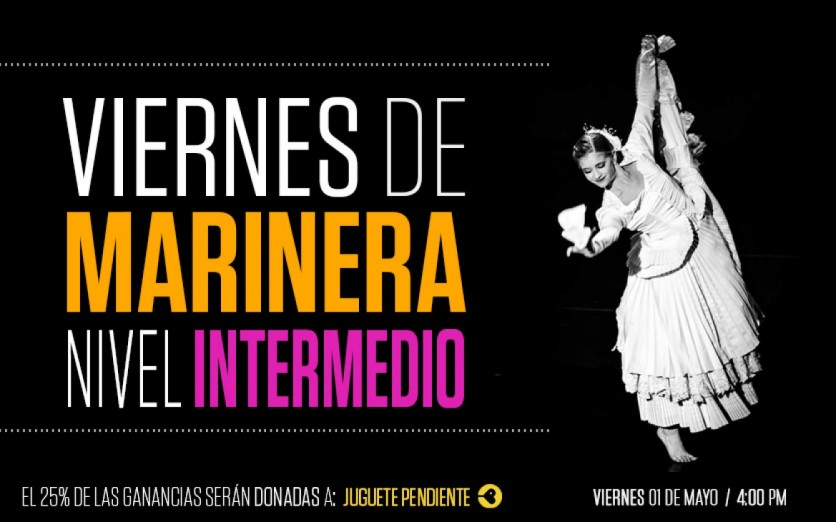 Viernes de Marinera (1/05) - Nivel Intermedio