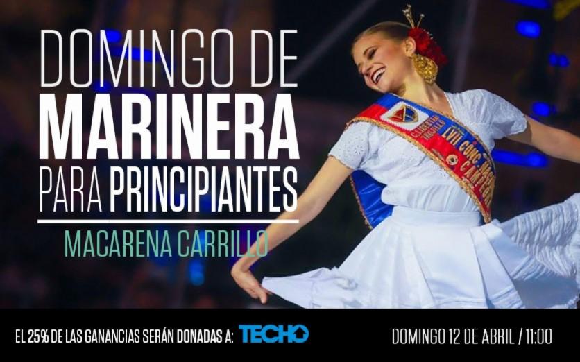 Domingo de Marinera para principiantes con Macarena Carrillo