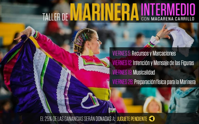 Taller de Marinera con Macarena Carrillo - Nivel Intermedio