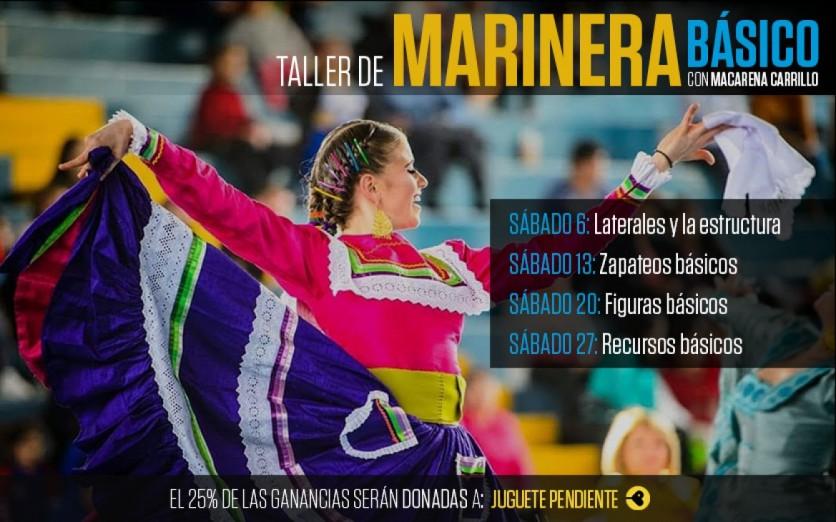 Taller de Marinera con Macarena Carrillo - Nivel Básico