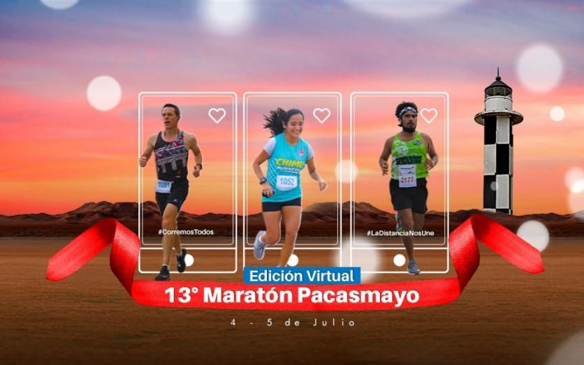 13° Maratón Pacasmayo - Edición Virtual Gratis