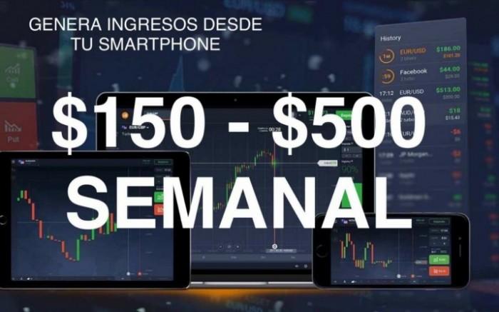 Genera ingresos desde tu smartphone - 150 a 500 dolares