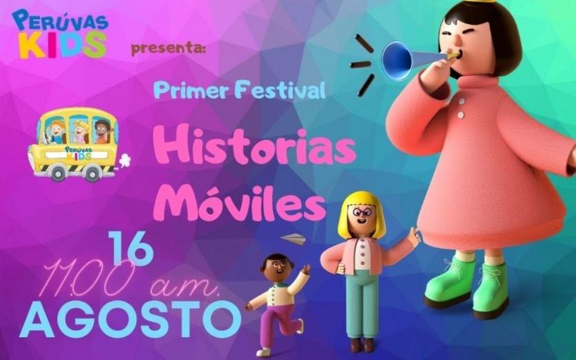 1er Festival de Historias Móviles por el Día del Niño.