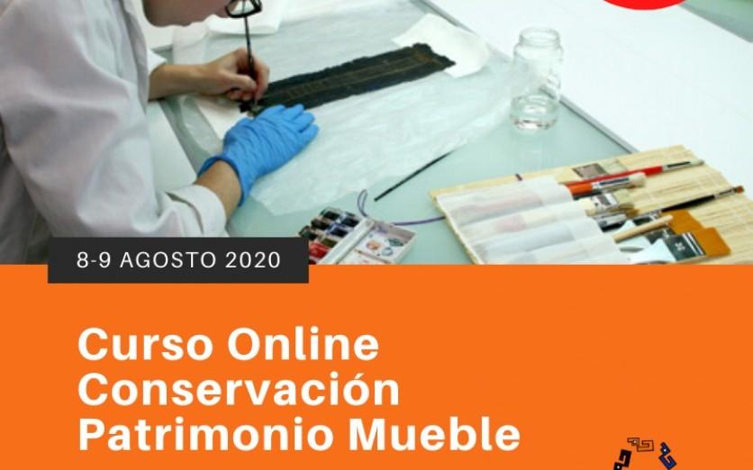 Curso Online Conservación Patrimonio Mueble