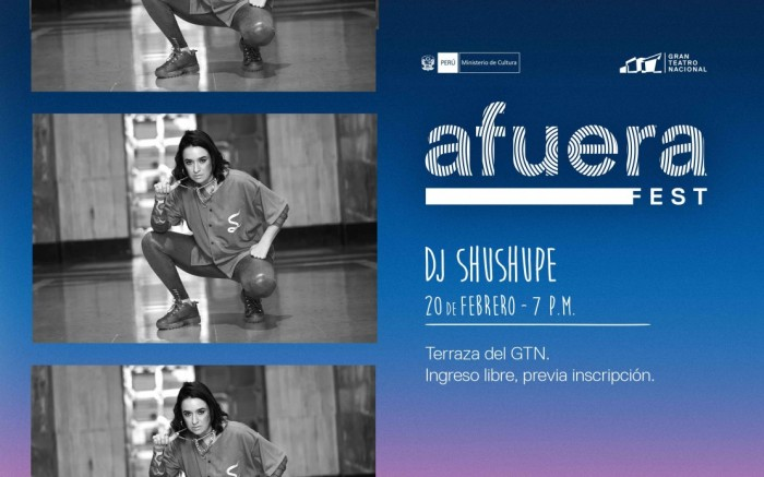 Afuera Fest - DJ Shushupe
