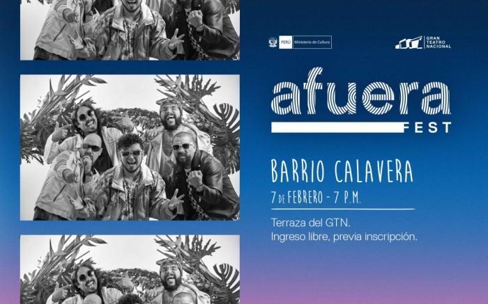 Afuera Fest - Barrio Calavera