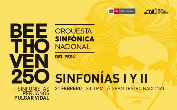 Beethoven: Sinfonías I y II - Orquesta Sinfónica Nacional