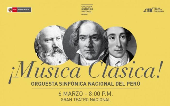 ¡Música clásica! - Orquesta Sinfónica Nacional