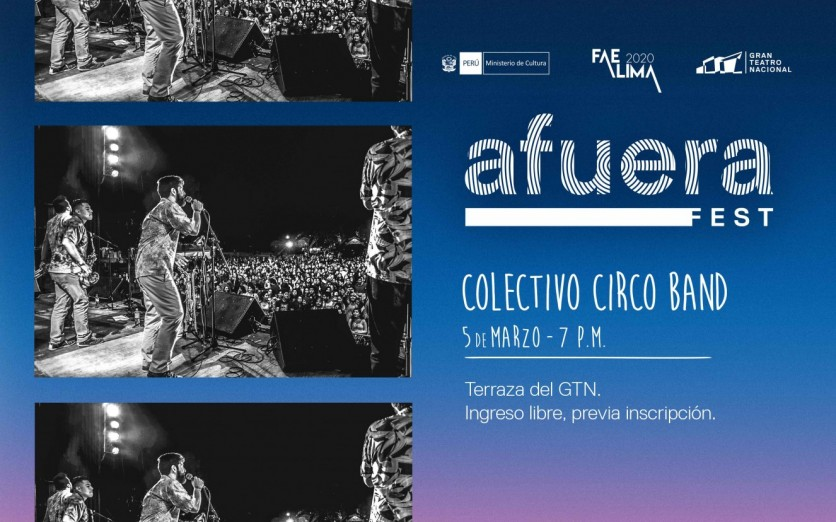 Afuera Fest - Colectivo Circo Band
