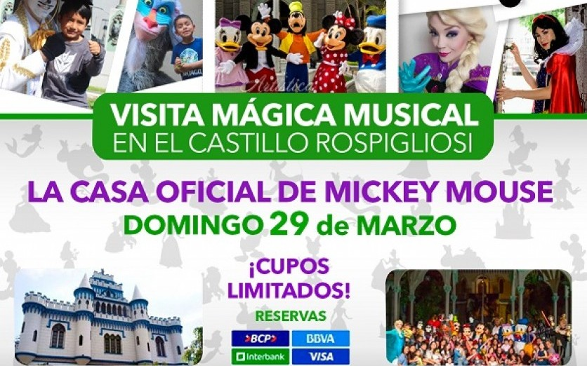 VISITA MÁGICA CASA OFICIAL DE MICKEY MOUSE - PERÚ