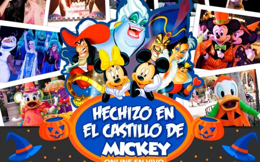 HECHIZO EN EL CASTILLO DE MICKEY-HALLOWEEN2020 LATINOAMÉRICA