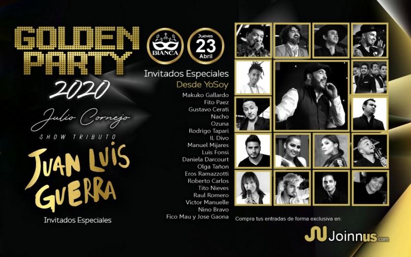 GOLDEN PARTY 2020
